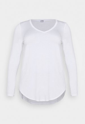 KARLY - Long sleeved top - white