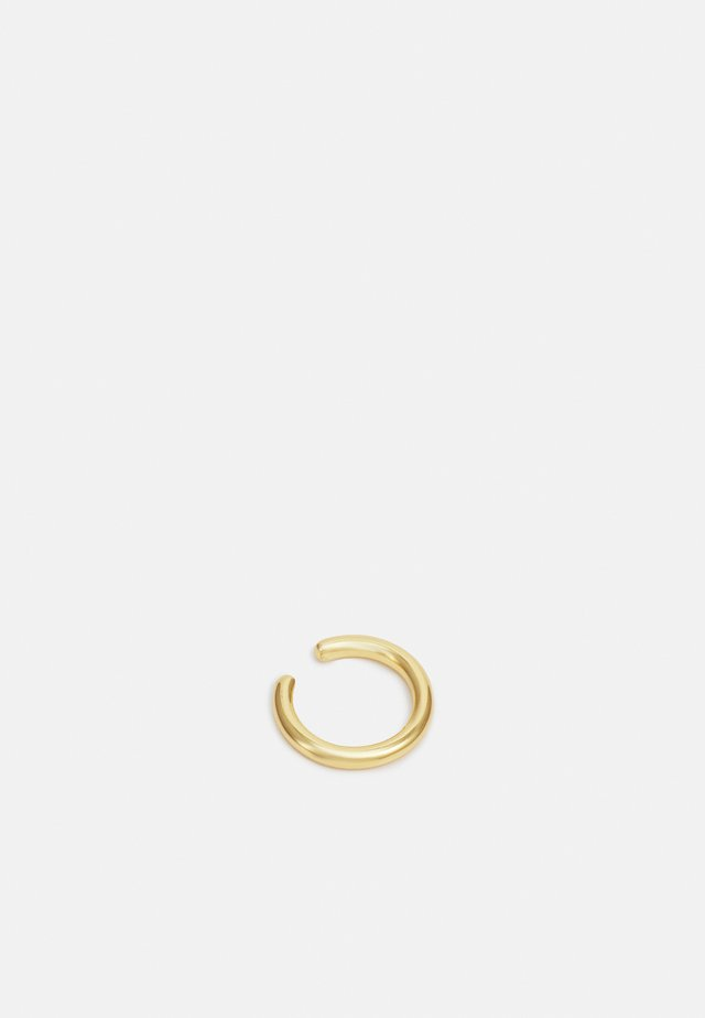 SIMPLE SINGLE EAR CUFF - Øreringe - pale gold-coloured
