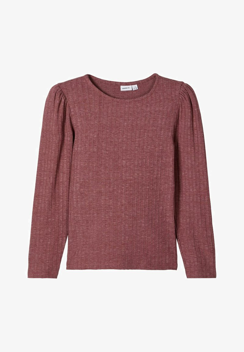 Name it - Langærmede T-shirts - wild ginger