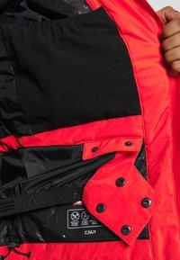 CMP - MAN JACKET FIX HOOD - Ski jacket - tango - 5
