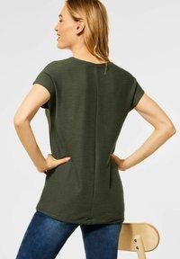 Cecil - Basic T-shirt - grün - 2