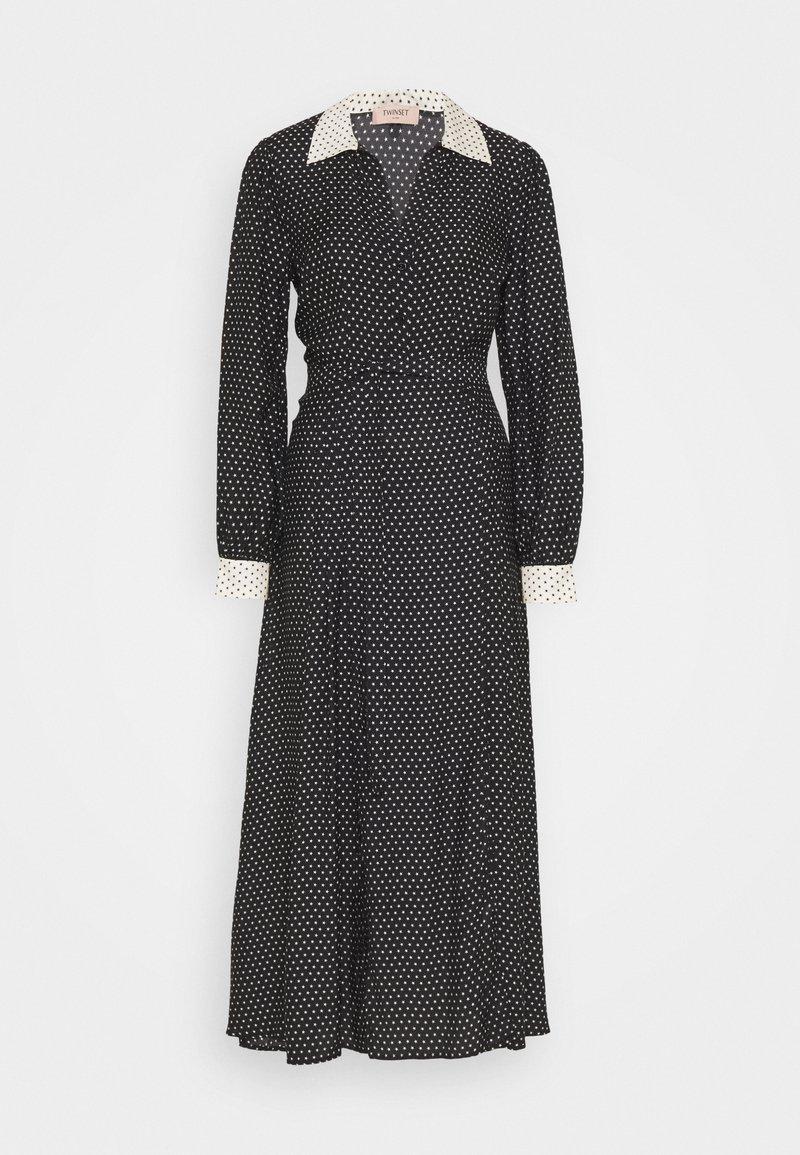 TWINSET - Maxi dress - nero/neve