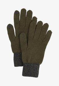 s.Oliver - TOUCHSCREEN - Gloves - olive - 0