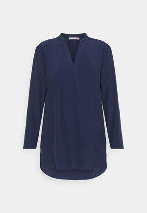 Basic V neck Blouse - Bluser - dark blue