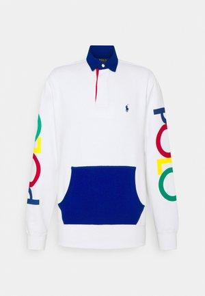 LONG SLEEVE RUGBY - Sweatshirt - white