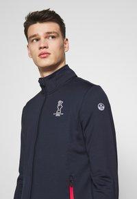 North Sails - FULL ZIP - Training jacket - navy blue - 4