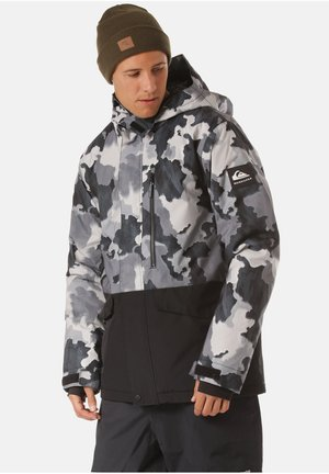 Winter jacket - true black bustin big camo