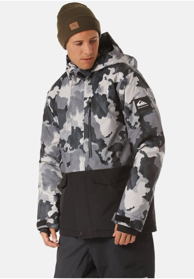 Winterjacke - true black bustin big camo