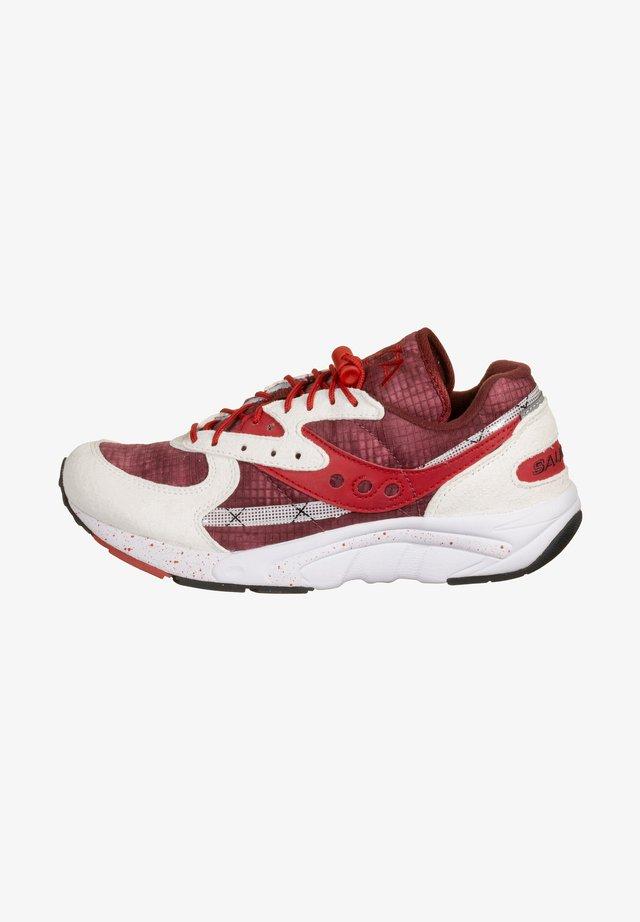 AYA - Sneaker low - white/red/tie dye