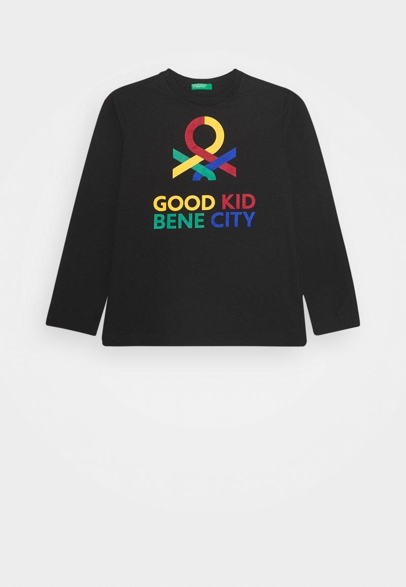 Benetton - BASIC BOY - Long sleeved top - black