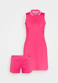 Callaway - GOLF DRESS WITH TIPPING - Sports dress - raspberry sorbet - 4