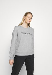 Tommy Hilfiger - BOBO REGULARC - Sweatshirt - light grey heather - 0