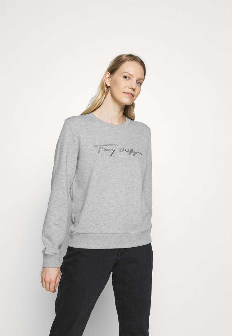 Tommy Hilfiger - BOBO REGULARC - Sweatshirt - light grey heather