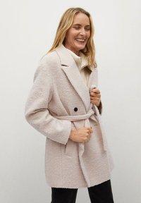 Mango - LAPIZ - Classic coat - beige - 3