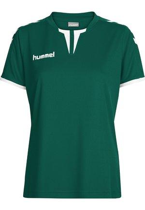 CORE SS - Print T-shirt - evergreen pr