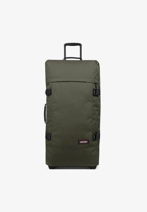 Wheeled suitcase - crafty olive