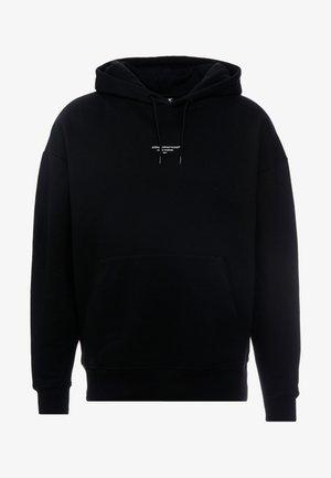 ESSENTIAL HOODIE - Bluza z kapturem - black