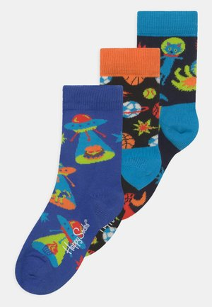 SPACE CATS & UFO'S & SPORTY SPACE 3 PACK UNISEX - Socks - multi-coloured