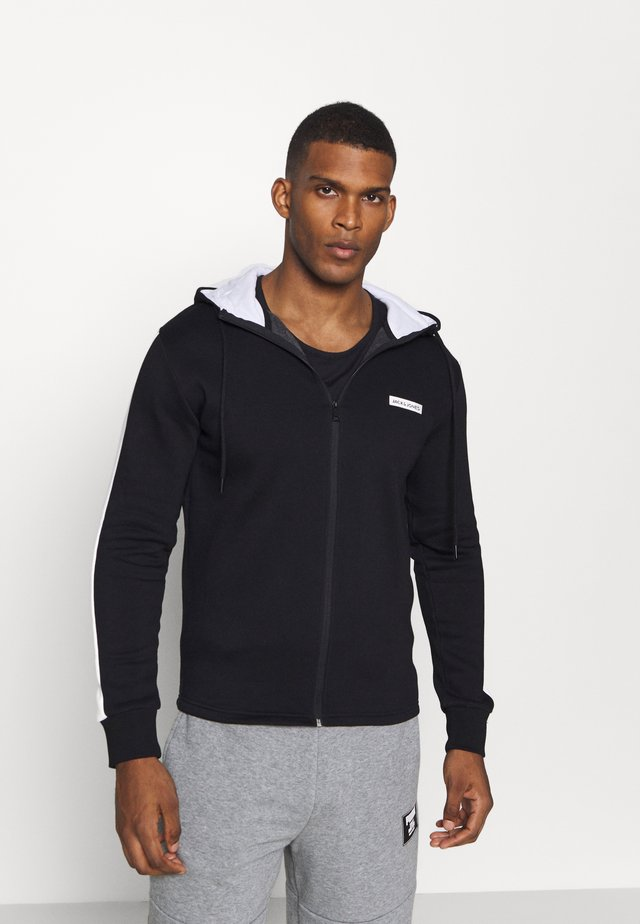 JCOZ SPORT FULL ZIP HOOD - Zip-up hoodie - black