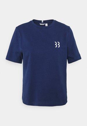 MICHAELA TEE - T-shirt print - blue depths