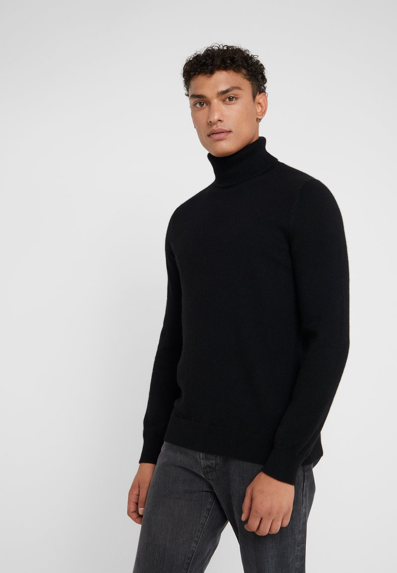 FTC Cashmere - ROLLNECK - Pullover - moonless night