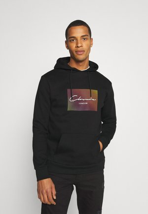 RAINBOW BLOCK HOODY - Sweat à capuche - black