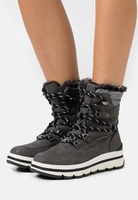 TOM TAILOR - Winter boots - coal - 0