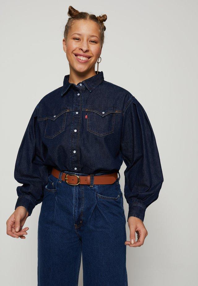 PAYTON WESTERN - Button-down blouse - tongue twister