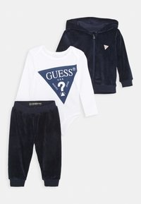 Guess - BABY SET UNISEX - Tepláková souprava - bleu/deck blue - 0