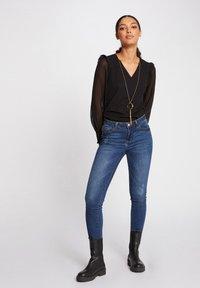 Morgan - Long sleeved top - black - 1