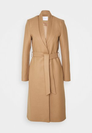 DOUBLE COLLAR COAT - Mantel - camel