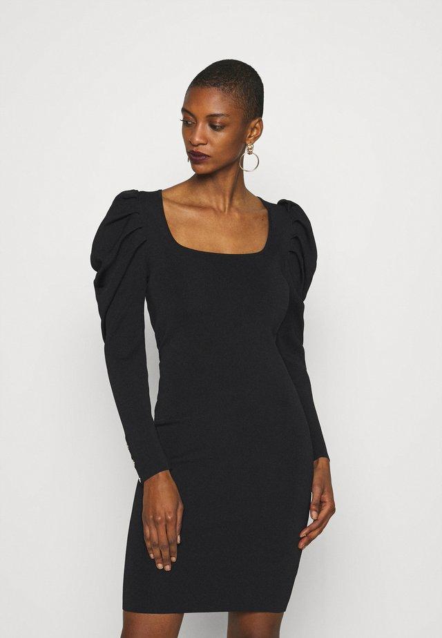 PENELOPE DRESS  - Shift dress - black
