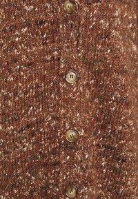 Lovechild - BIBI - Cardigan - rust brown - 2