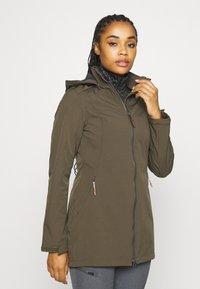 Icepeak - UHRICHSVILLE - Soft shell jacket - dark olive - 0