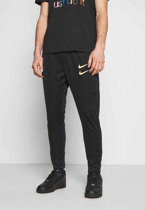 PANT - Tracksuit bottoms - black/gold