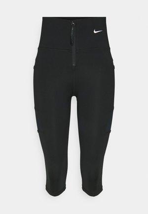 SHORT - Legging - black/white