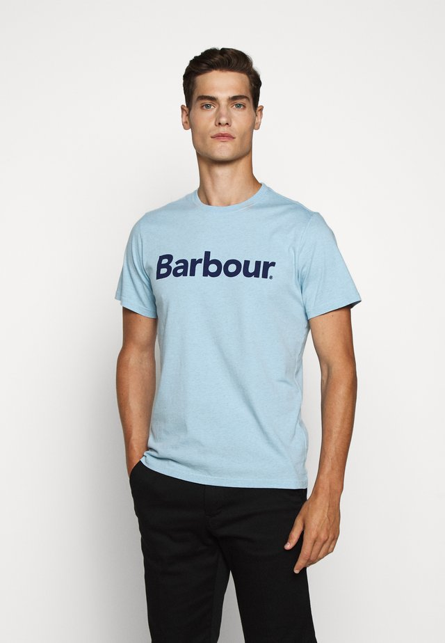 ARDFERN TEE - Print T-shirt - ocean blue