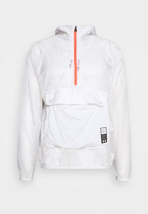 RUN ANYWHERE ANORAK - Sports jacket - white