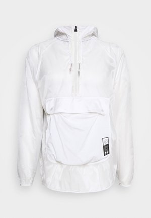 RUN ANYWHERE ANORAK - Veste de running - white