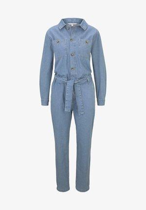 OVERALLS JEANS JUMPSUIT - Jumpsuit - used mid stone blue denim