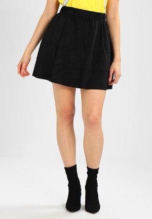 NMLAUREN  - A-line skirt - black