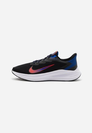 ZOOM WINFLO 7 - Obuwie do biegania treningowe - black/chile red/racer blue
