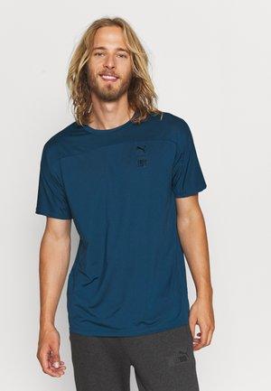 TRAIN FIRST MILE TEE - T-shirt basic - intense blue