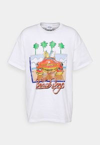 Vintage Supply - VINTAGE BEACH BOYS GRAPHIC UNISEX - Print T-shirt - white - 4