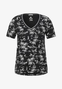 Cecil - MIT EXOTISCHEM - Print T-shirt - grau - 3