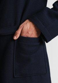 Schiesser - Dressing gown - dunkelblau - 3