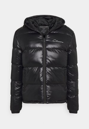 RACER LOGO PUFFER - Winter jacket - black