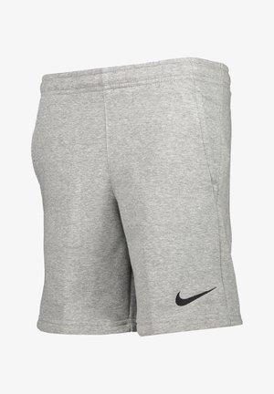NIKE PERFORMANCE FUSSBALL - TEAMSPORT TEXTIL - SHORTS PARK FLEECE - Sports shorts - grauschwarz