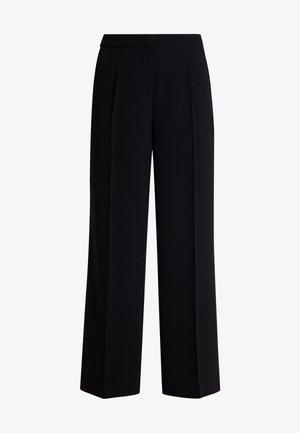 SLFTINNI WIDE PANT - Pantalones - black