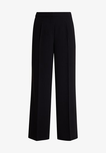 SLFTINNI WIDE PANT - Trousers - black